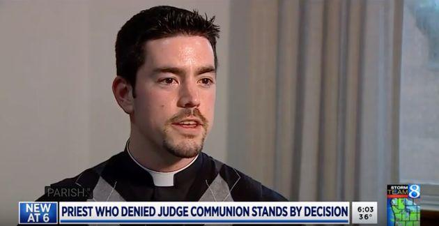 Rev. Scott Nolan is the leader of St. Stephen Catholic Church in East Grand Rapids,