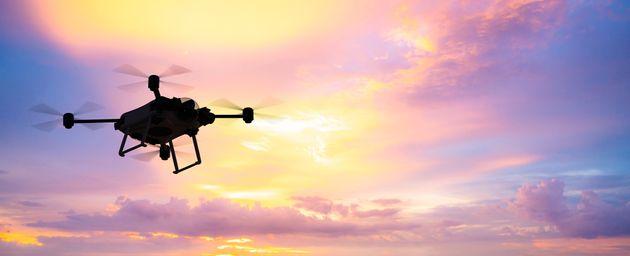 Πτώση drone της ΕΛ.ΑΣ. σε ταράτσα των