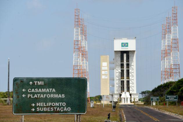 Centro de Lançamento de Alcântara (CLA), no Maranhão está agora no centro...