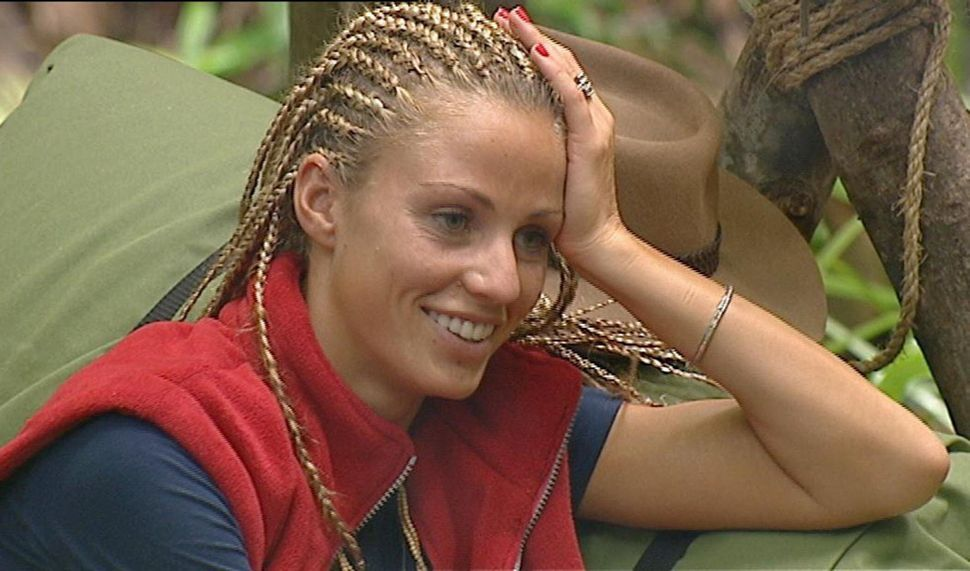 Katie on I'm A Celebrity in
