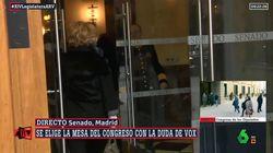 El comentario de Ferreras tras el accidente de Esperanza Aguirre: no se ve pero se