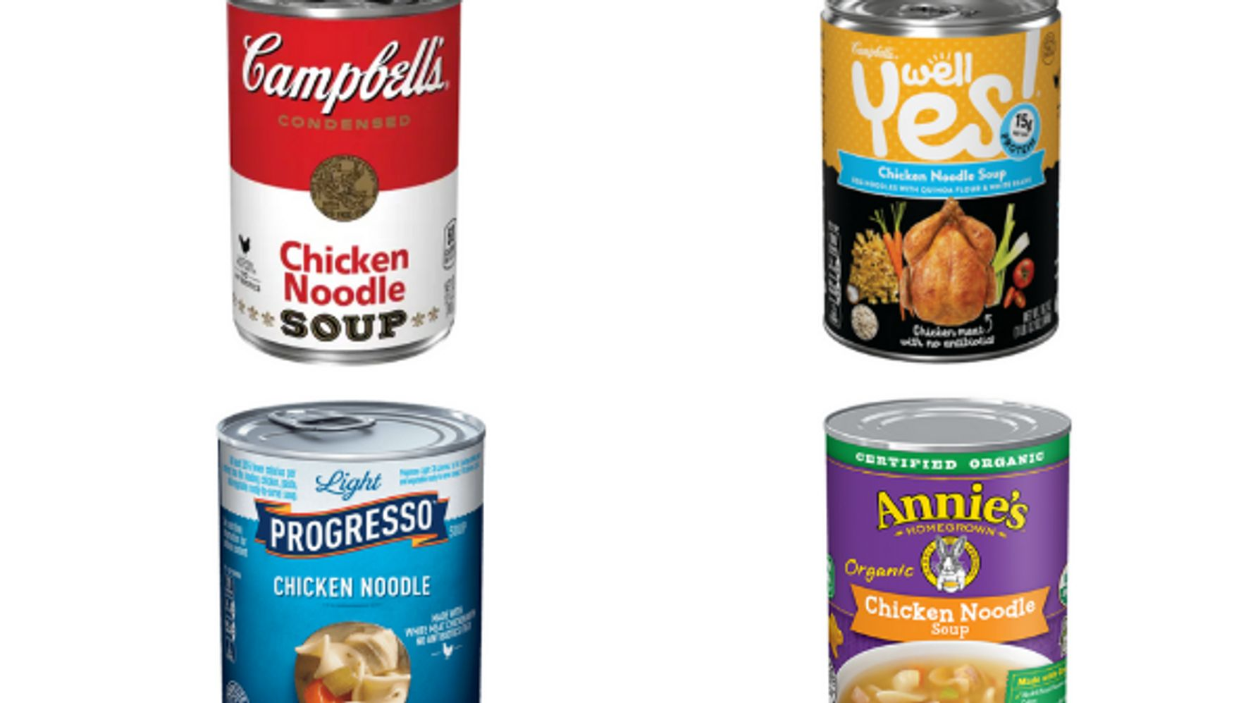 Canned Chicken Soup: The Good And The Bad, Ranked By Nutritionists