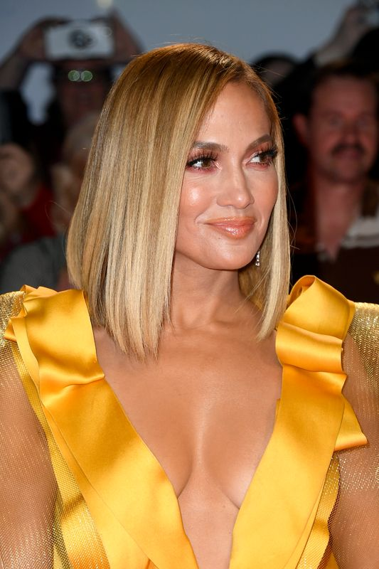 "Jennifer Lopez at the ""Hustlers"" premiere at the Toronto International Film Festival on Sept. 7."