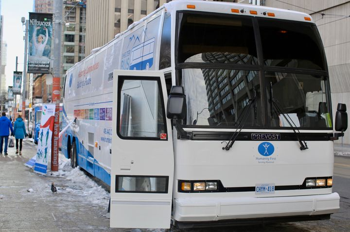 The Shelter Bus's route through downtown Toronto will change depending on the need.