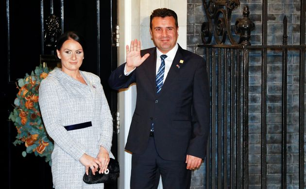 Ο πρωθυπουργός της...