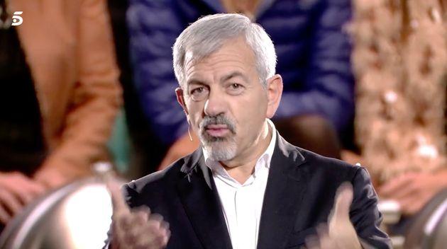 Carlos Sobera como presentador de 'GH