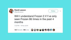25 Hilarious Tweets From Parents About 'Frozen