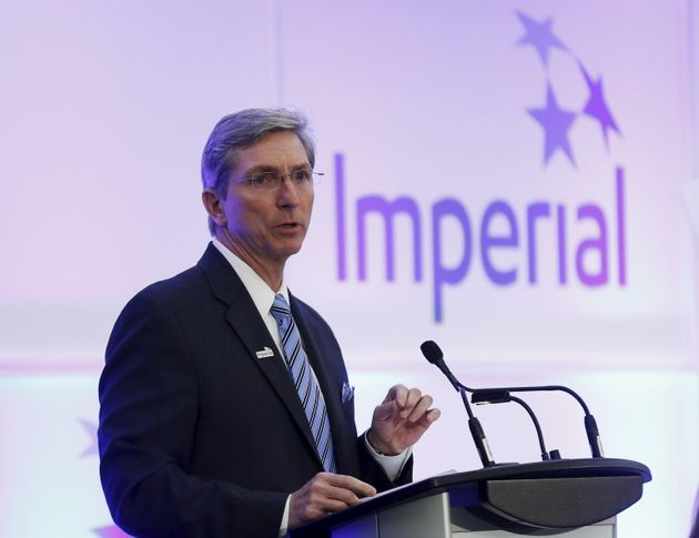 President and CEO Rich Kruger of Imperial Oil addresses shareholders during the company's annual general...