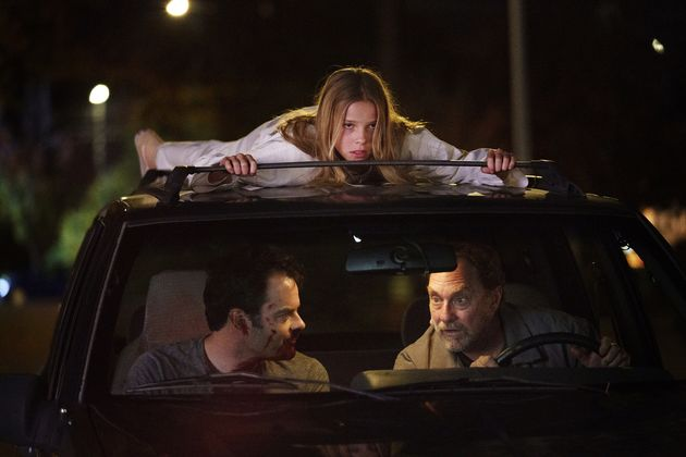 Jessie Giacomazzi, Bill Hader and Stephen Root in the second season of