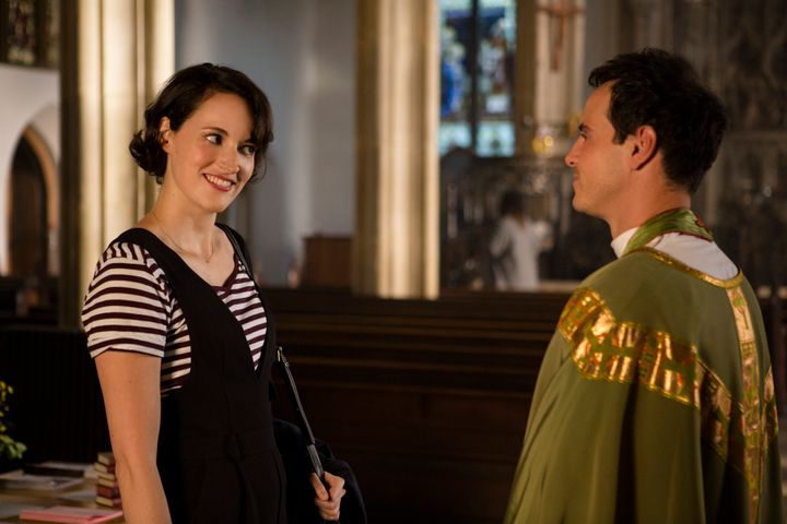 "Phoebe Waller-Bridge and Andrew Scott in the second season of ""Fleabag."""