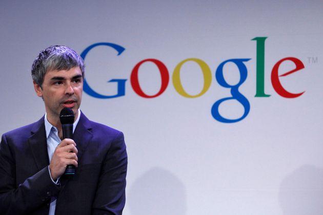 Larry Page, ici en mai 2012, a cofondé Google et présidait jusqu'à ce 3 décembre...