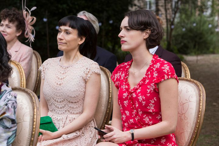 """Sian Clifford and Phoebe Waller-Bridge in the second season of """"Fleabag."""""""