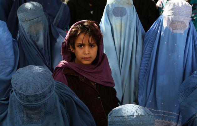 アフガニスタンの女性たち