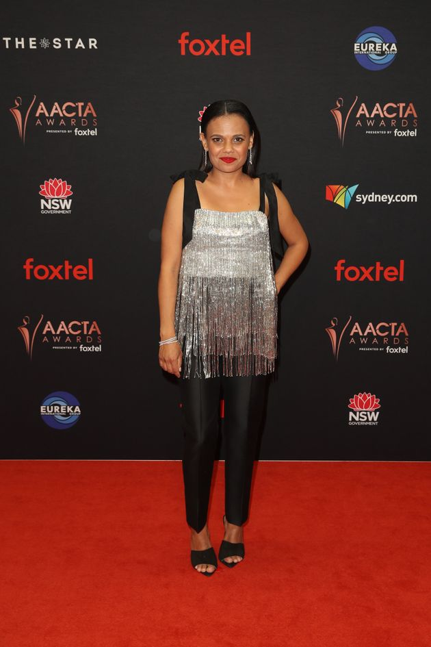 Miranda Tapsell attends the 2019 AACTA