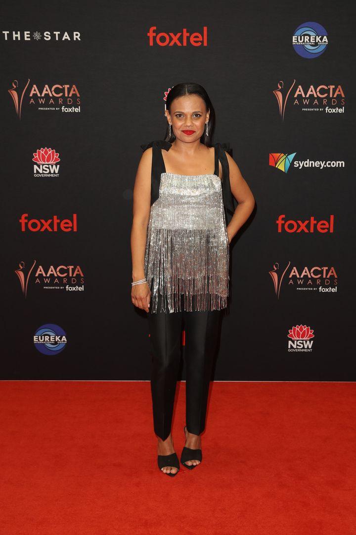 Miranda Tapsell attends the 2019 AACTA Awards.