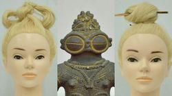 縄文時代の土偶。その「髪型」を再現してみたら…【画像集】