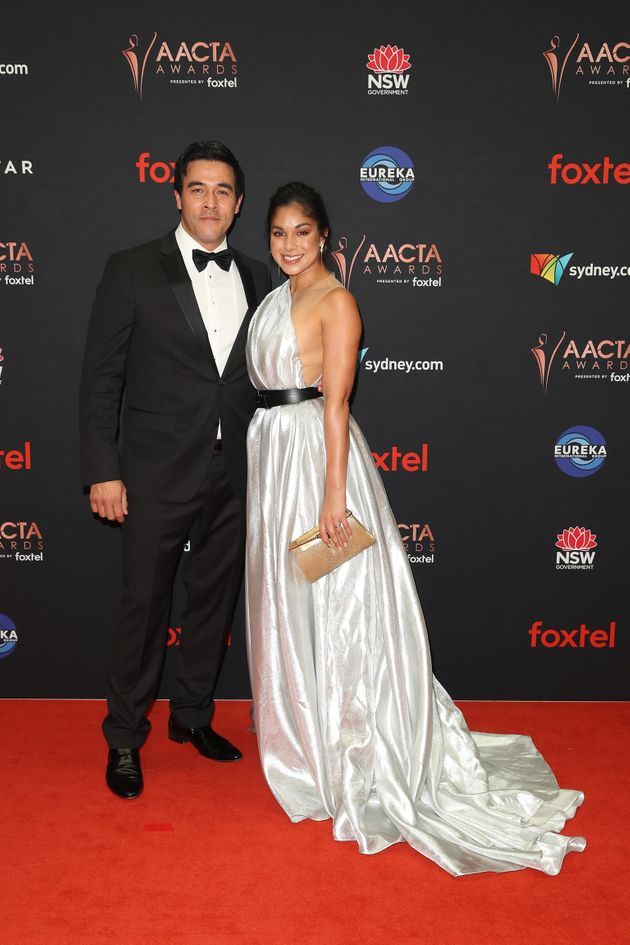 Home and Away stars James Stewart and Sarah