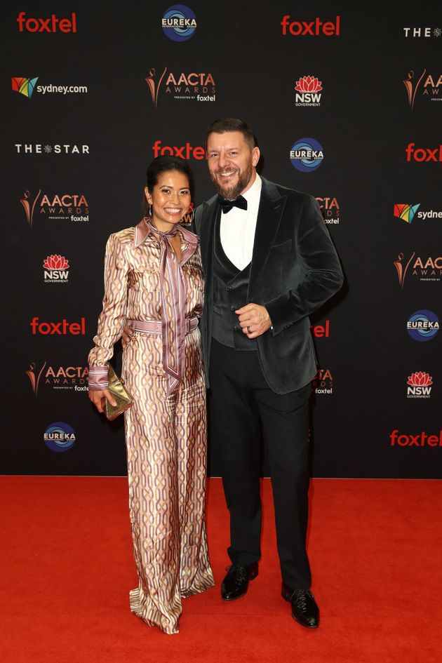 Manu Feildel and wife Clarissa