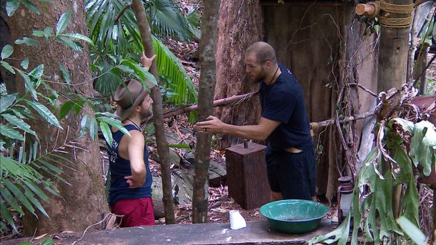James Haskell was annoyed at his I'm a Celebrity