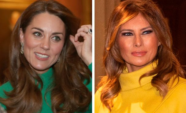 Kate Middleton, Melania