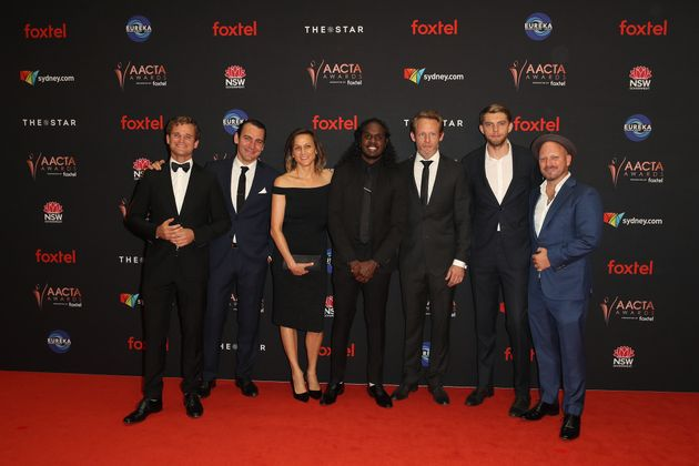 Cast and crew of The Nightingale at the 2019 AACTA