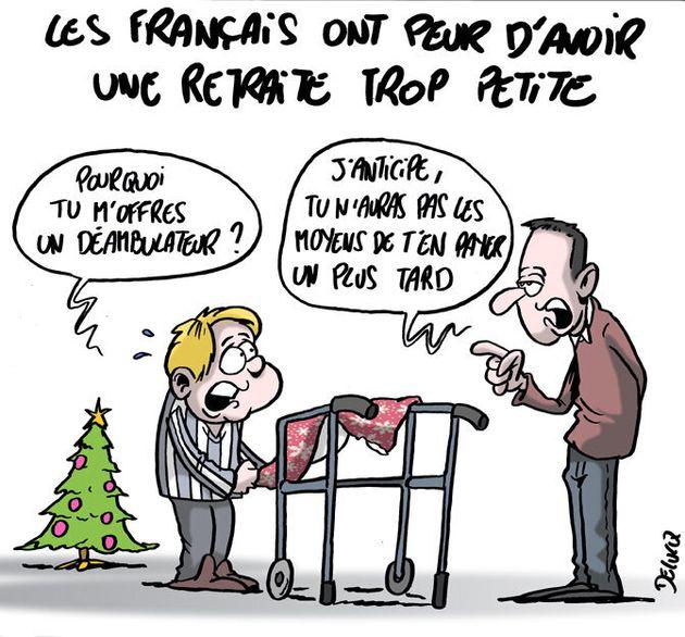 Les Français inquiets prévoient déjà la baisse de leur