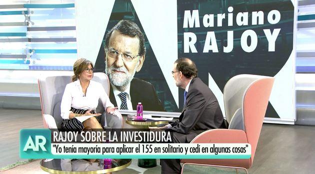Mariano Rajoy en 'El Programa de