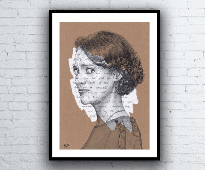 "<a href=""https://fave.co/2rehNuT"">Fleabag Original Portrait, Sarahasart, Etsy,</a> &pound;240"