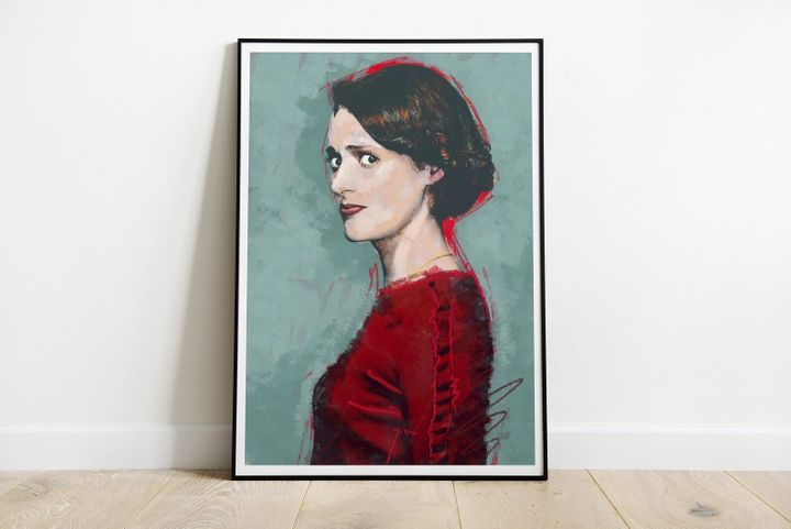 "<a href=""https://fave.co/2Yd8ojk"">Poster Print of Phoebe Waller Bridge as Fleabag, Matt Hemming Studio, Etsy,</a> &pound;7.50"