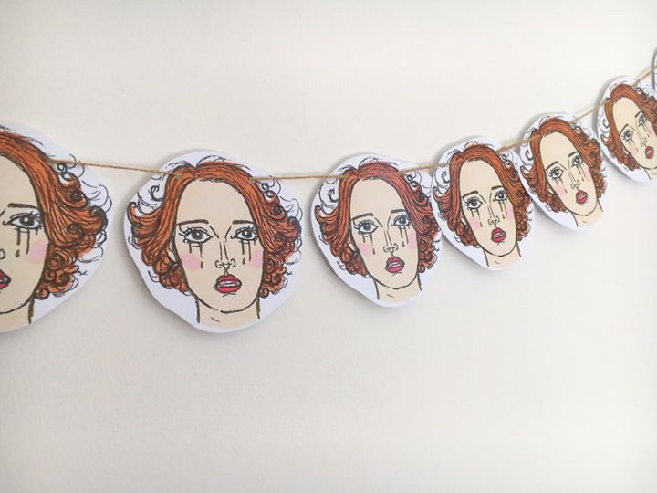 """<a href=""""https://fave.co/2rVcb8Q"""">Fleabag Bunting, Dolly Loves Dallas, Etsy,</a> &pound;13.50"""