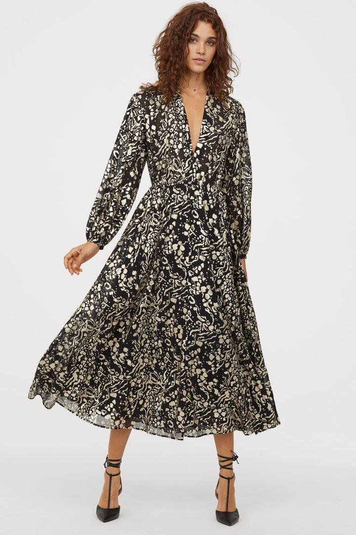 Chiffon Dress, H&M