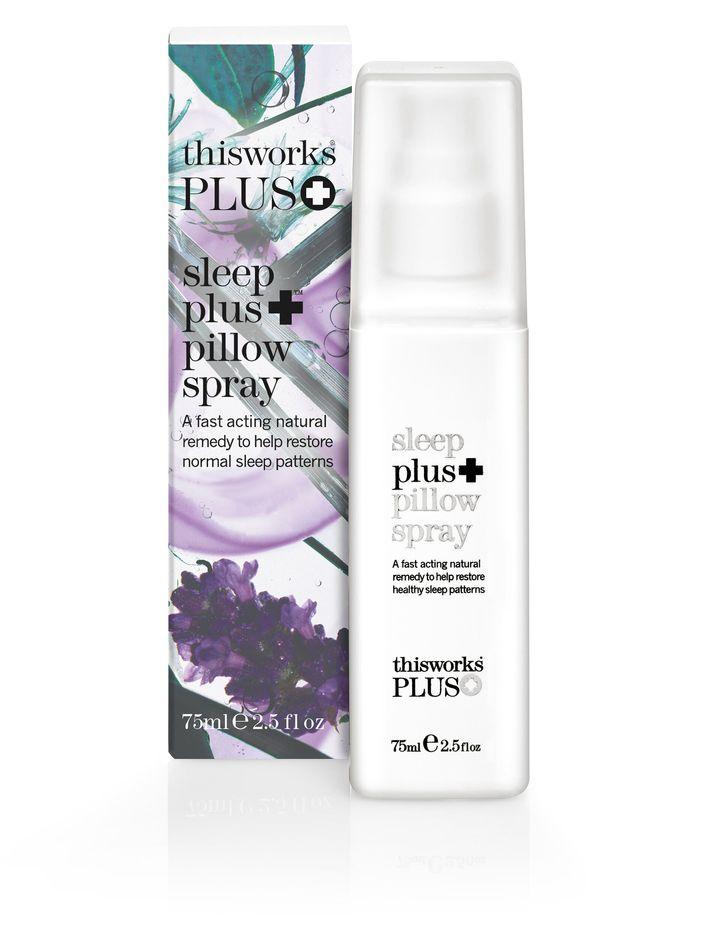 "<a href=""https://fave.co/366jBoN"">Sleep Plus Pillow Spray, Marks &amp; Spencer,</a> &pound;27.50"