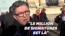Avec le million de signatures ADP, Macron est