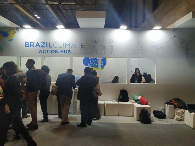 El stand de Brasil lo ha financiado la sociedad