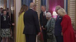 La Regina rimprovera alla principessa Anna di non partecipare ai saluti ai Trump