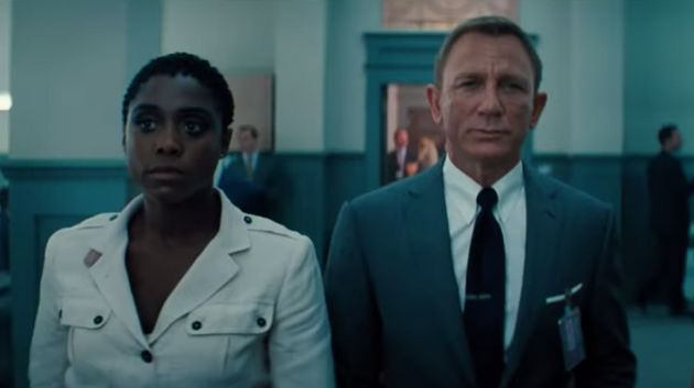 Lashana Lynch and Daniel Craig in the No Time To Die