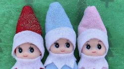 Elf On The Shelf Babies Exist, Because Even Santa's Scout Gets