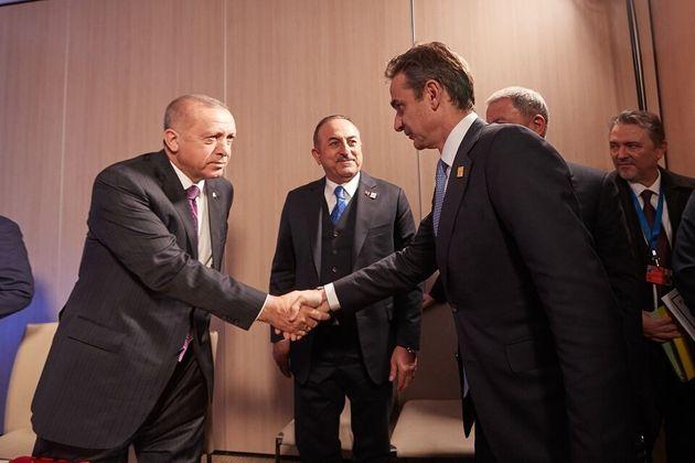 Μητσοτάκης: «Εθεσα όλα τα ζητήματα στον Ερντογάν, κατεγράφησαν