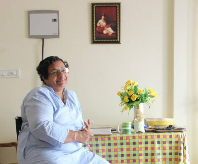 Sister Jesme, a former nun from Kerala. whose book <em>Amen </em>also details sexual abuse, sexual relations and bullying in the convent.