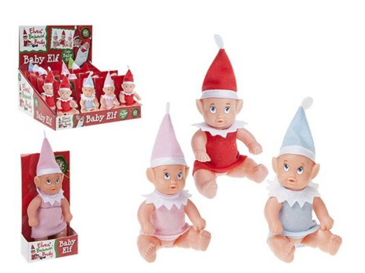 Baby elves are also available on Amazon.