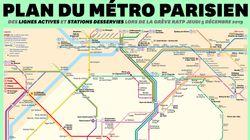 Voici à quoi ressemble le plan du métro de