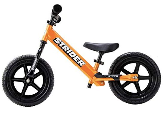 "<a href=""https://fave.co/2RjRrT6"" target=""_blank"" rel=""noopener noreferrer"">Strider 12 Sport Balance Bike, Amazon</a>, &pound;60"
