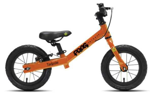 """<a href=""""https://fave.co/2DNdcTm"""" target=""""_blank"""" rel=""""noopener noreferrer"""">Tadpole Balance Bike, Frog</a>, &pound;160"""