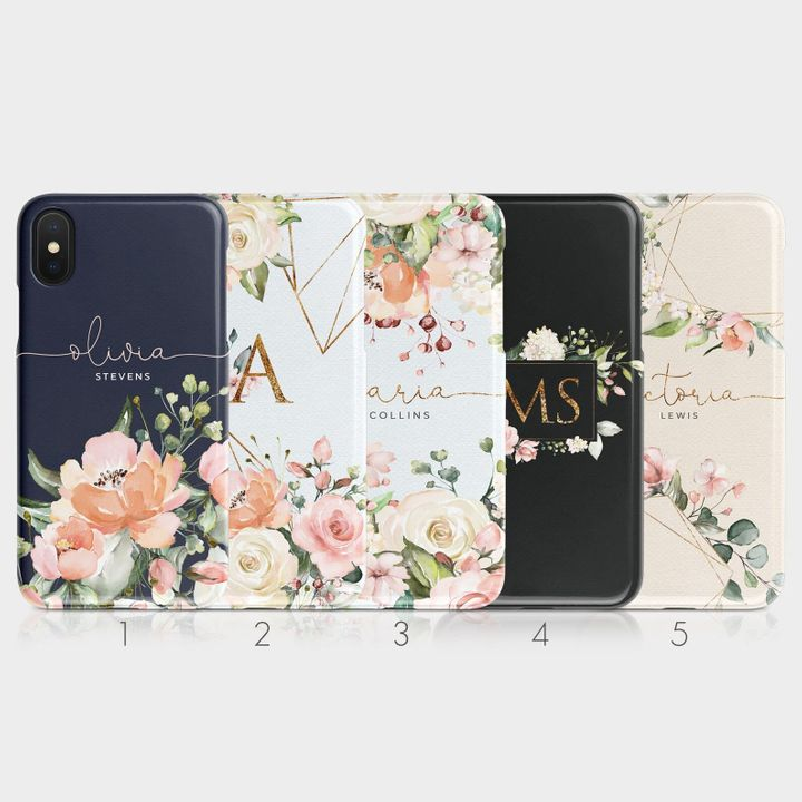 """<a href=""""https://fave.co/34P9NPP"""">Personalised Initials Custom Hard Phone Case, Tirita Case, Etsy,</a> &pound;7.20"""