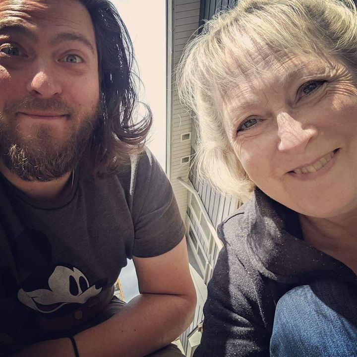 Bradley and his mom, Janice.
