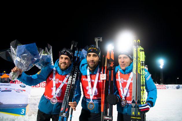 Le Biathlon recommence à peine, les Français signent un quadruplé