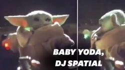 Des fans se sont amusés à détourner Baby Yoda en DJ et c'est très