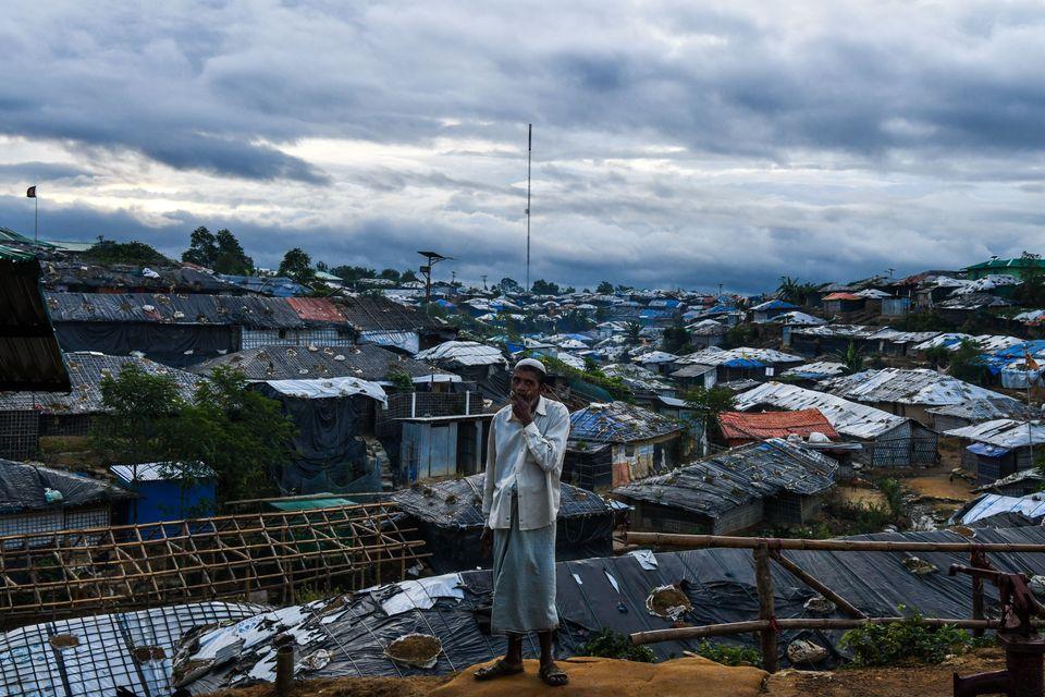 Un rohingya, en el campo de refugiados de Kutupalong, cerca de Cox's Bazar, Bangladesh, en agosto de