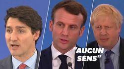 Macron, Johnson et Trudeau s'expliquent après leur moquerie supposée sur
