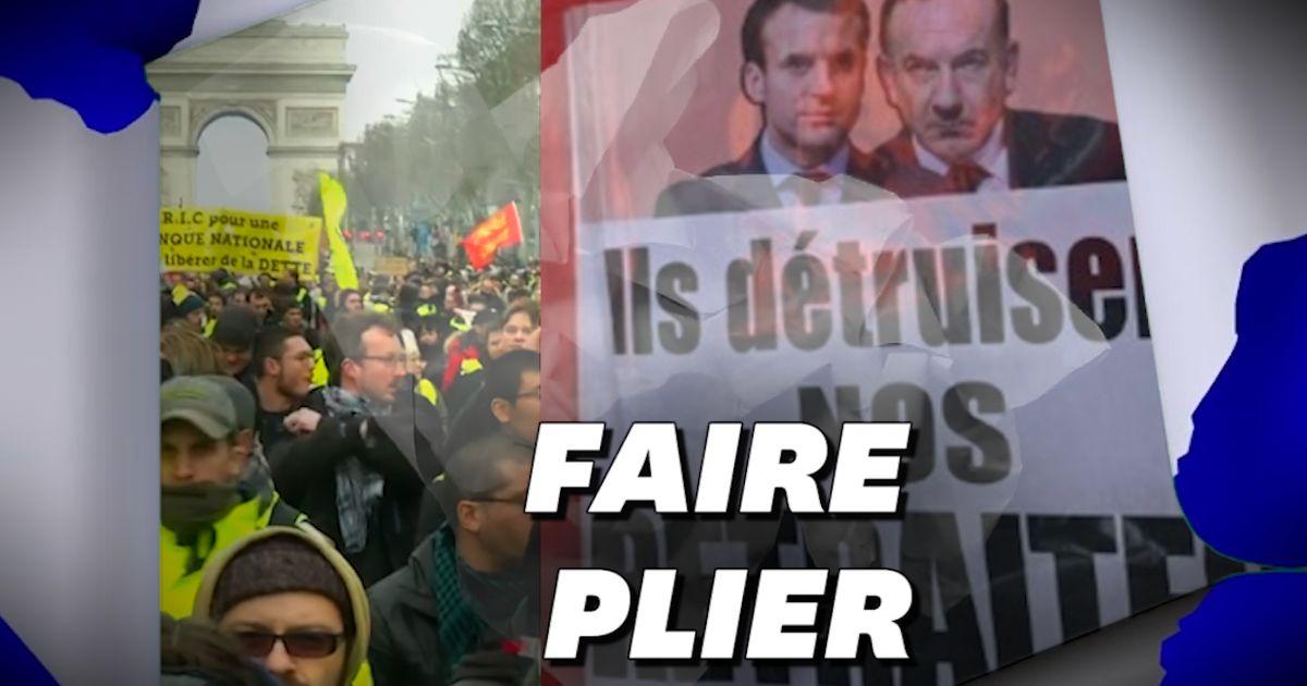 Grève nationale: qu'est-ce qui fait lâcher le gouvernement?